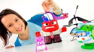 ВЕРТОЛЕТ из бумаги. Подарок для Страха на 23 февраля. Видео с игрушками из мультфильма ГОЛОВОЛОМКА(У игрушек из мультфильма ГОЛОВОЛОМКА, тоже есть праздники и они очень любят к ним готовиться. Гнев ищет..., 2016-02-17T05:06:53.000Z)