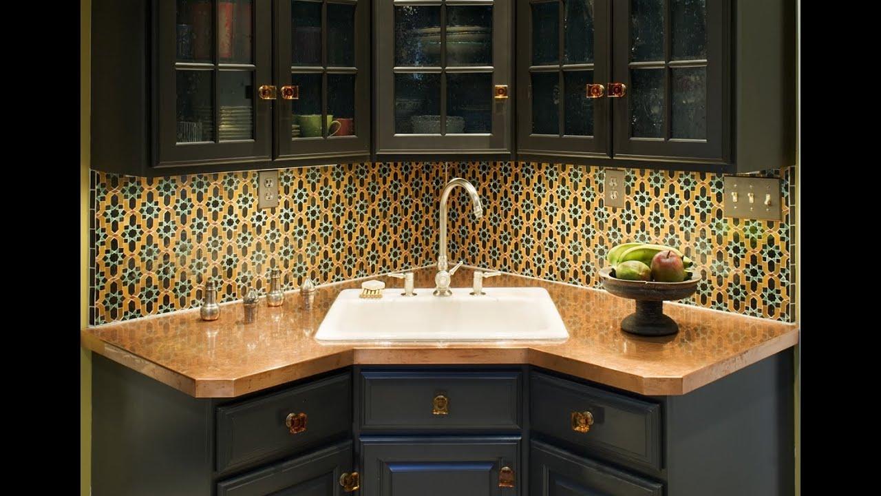 Nice Corner Kitchen Cabinet Design Youtube