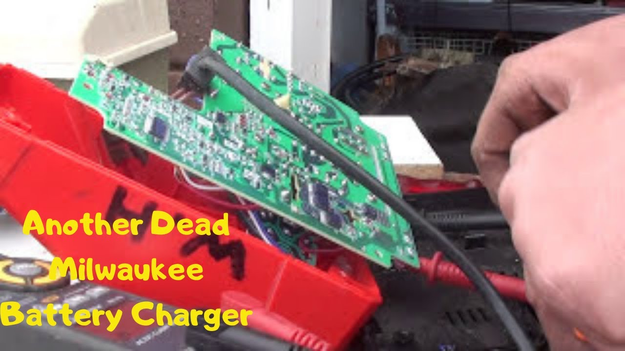 another dead milwaukee m12 m18 battery charger milwaukee drill charger milwaukee m12 charger wiring diagram #10