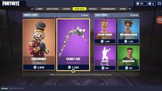 Fortnite buying crackshot skin and candy axx