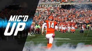 Andy Dalton Mic'd Up vs. Browns (Week 7) | Sound Fx | NFL Films