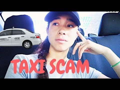 DEALING WITH TAXI SCAMS IN MANILA (PHILIPPINES)