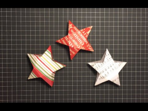 How to make an origami star box. ---------- Origami: Star Box ... | 360x480