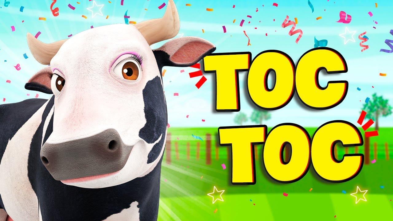 TOC TOC ¡Aprende los Colores con los de Animales de La Granja! | La Granja de Zenón