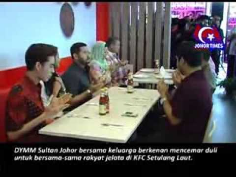 KFC Stulang Laut kini di buka