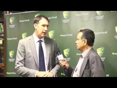 CEO of Cricket Australia, James Sutherland gives a candid interview to Raj for OzIndian TV Sydney1
