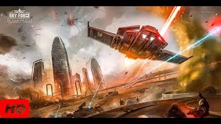 SKY FORCE RELOADED PC STAGE 1 (NORMAL, HARD,INSANE) GAMEPLAY