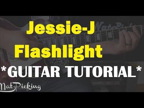 Jessie J - Flashlight *GUITAR LESSON*