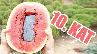 iPhone XS Max'i Karpuza Yerleştirip 10. Kattan Aşağıya Attık! (ACIMADIK #8)