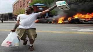 Baltimore Riots State Of Emergency Looting Tears Gas Clash Protesters Freddy Gray Protest! (RAW)