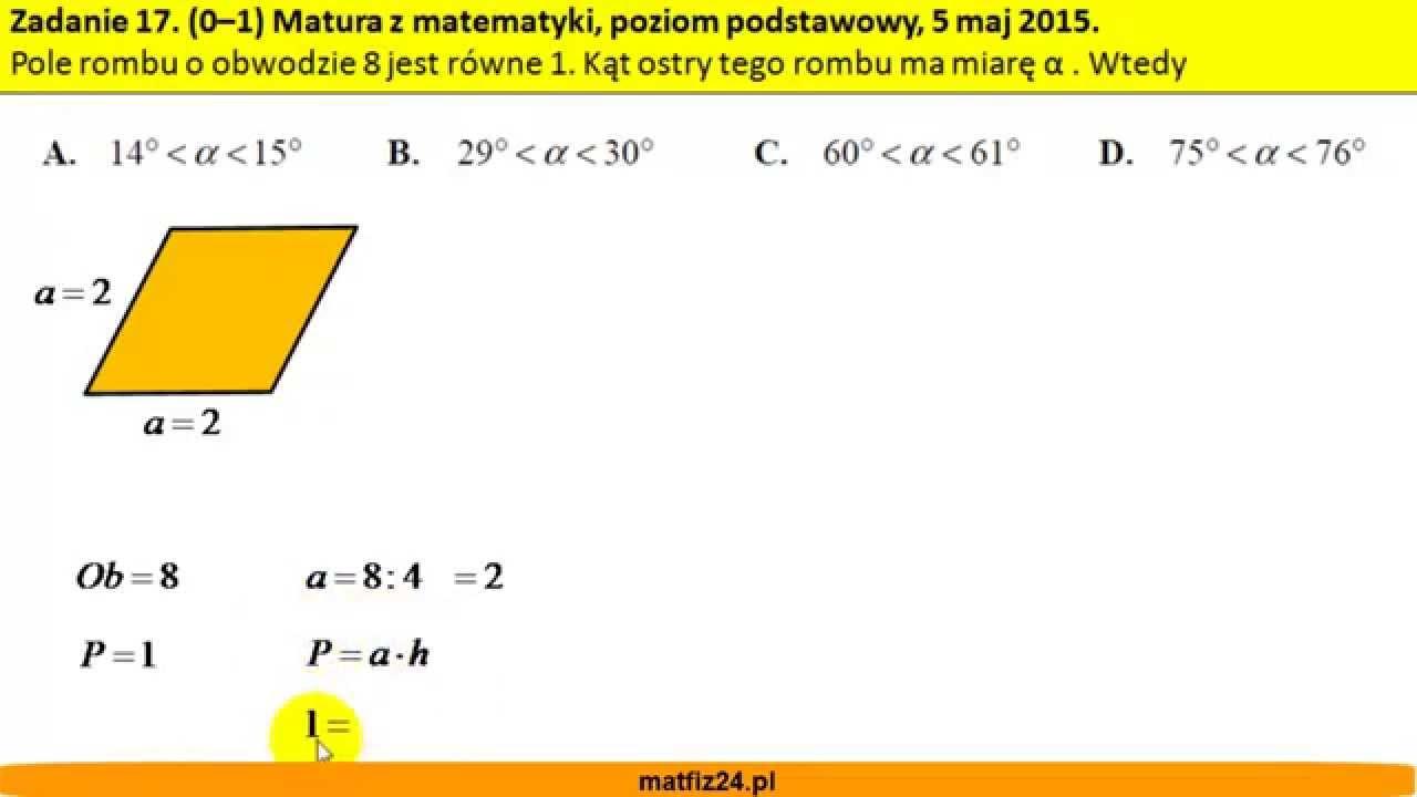 matura z matematyki czerwiec