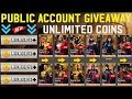 INJUSTICE 2.16.1 BRAND NEW PUBLIC ACCOUNT FOR EVERYONE WITH All The Maxed Characters