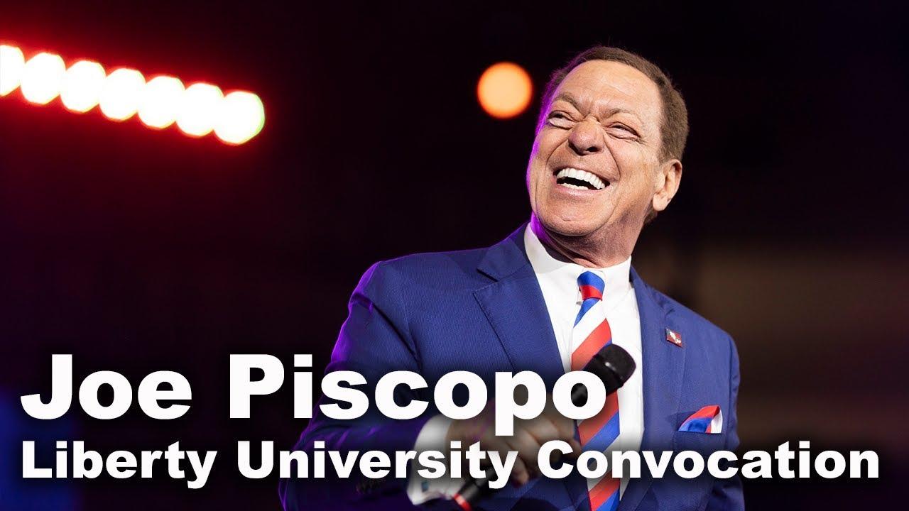 Joe Piscopo - Liberty University Convocation