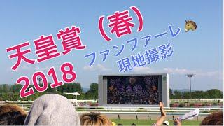 【現地撮影】GⅠ 天皇賞(春)2018 ファンファーレ 京都競馬場