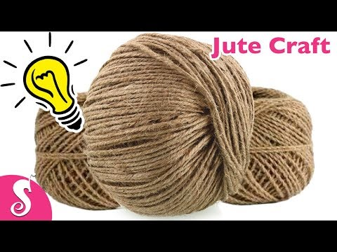 5 Cool Ideas of using JUTE | Best out of waste Ideas for Home Decor by Sonali's Creations