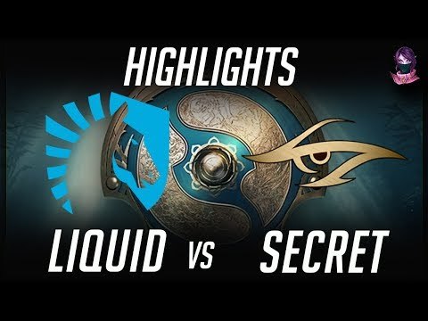 Liquid vs Secret TI7 Highlights The International 2017 by Time 2 Dota #dota2 #ti7