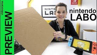 Nintendo Labo -diversión con CARTON- 📦
