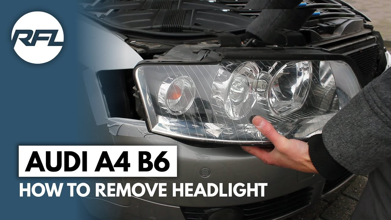2006 Vw Jetta Tdi Wiring Diagram Audi A4 B6 How To Remove Headlight Explained To Change