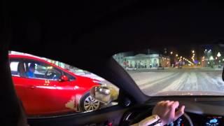 dnc ночной дрифт night drift audi a4 revo stage 2 320hp