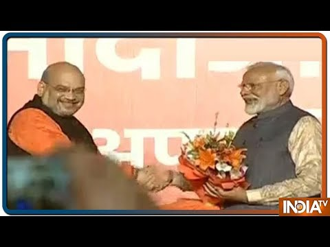 Lok Sabha Election Results 2019 | Felicitation Of PM Modi At BJP Headquarters