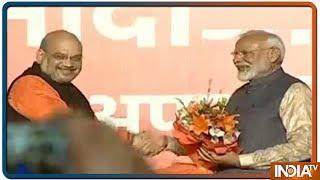 Lok Sabha Election Results 2019   Felicitation Of PM Modi At BJP Headquarters