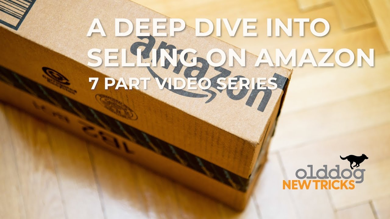 AMAZON SELLING : INTRO TO THE 7 PART SERIES - old dog new tricks