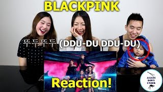 BLACKPINK - '뚜두뚜두 (DDU-DU DDU-DU)' M/V | Reaction - Australian Asians