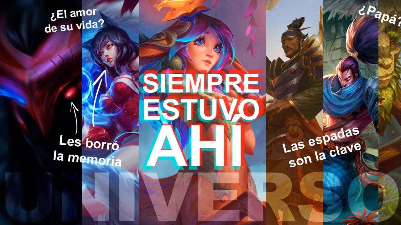 LILLIA CONECTA TODAS LAS HISTORIAS | Historia de la nueva campeona | Universo Lol con Halo