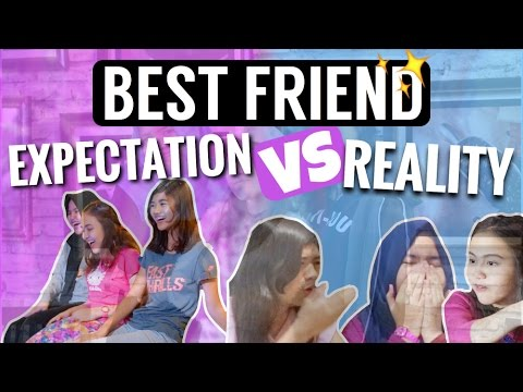 BEST FRIEND : EXPECTATION VS REALITY! ft KaCaO squad! [BHS INDONESIA]