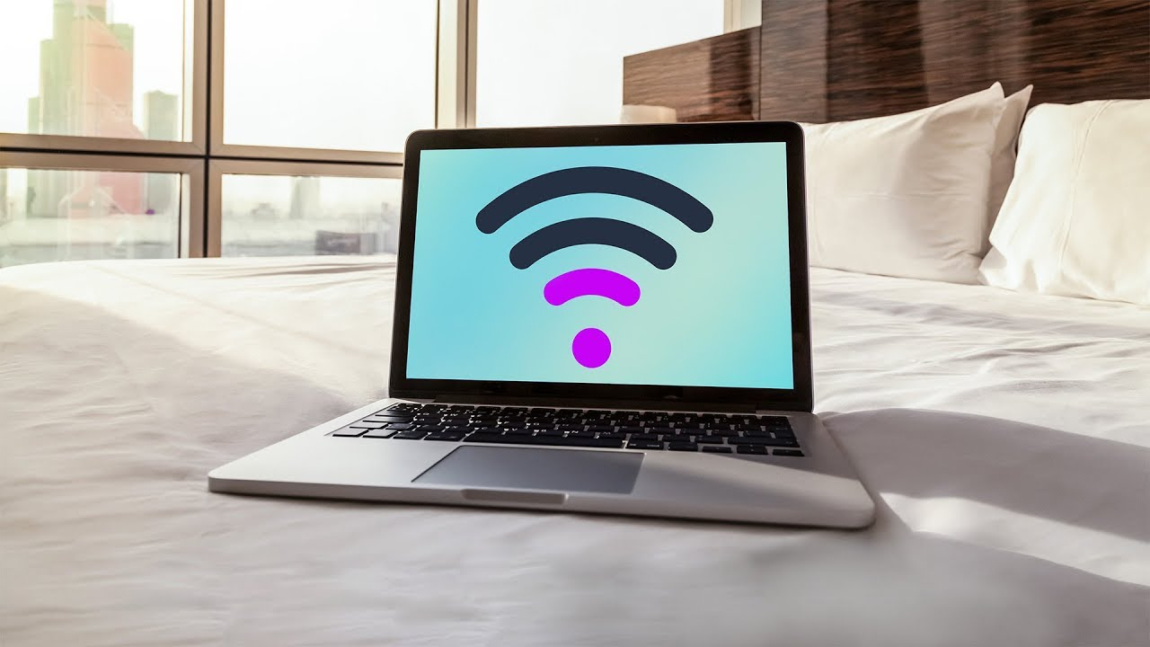 cannot connect laptop to hotel wifi