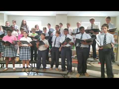 Assumption Middle School Glee Club video 1