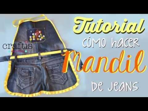 Tutorial: Cómo hacer un mandil de jeans from YouTube · Duration:  4 minutes 39 seconds