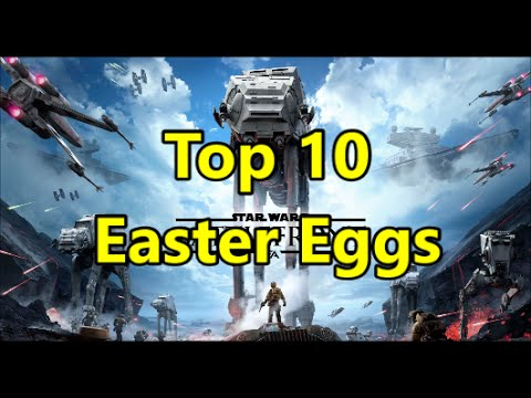 Top 10 Easter Eggs You Probably Missed In Battlefront 3!