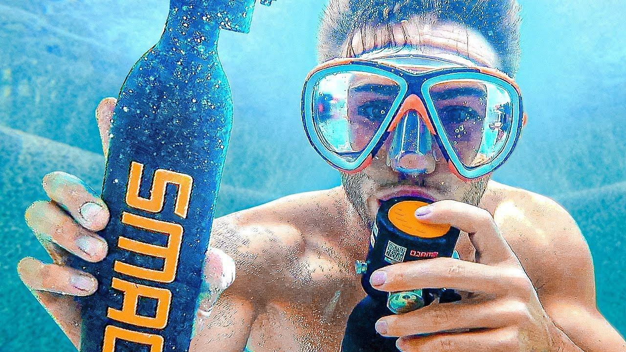 Hid Underwater To Cheat In Hide N Seek! *New House*