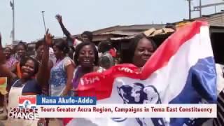 Nana Akufo-Addo: Campaigning in Tema East