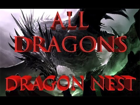 видео: Все Драконы в dragon nest • Часть 1