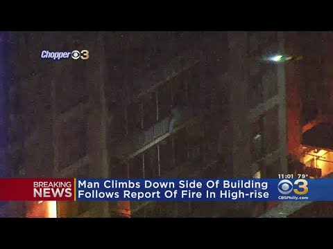 Michael Berry -  Philly Man Climbs 15-Stories Up To Check On His Mother During A Fire