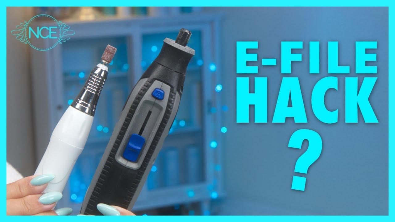 E-File Hack 🤔 Should You Use A Dremel For Nails?