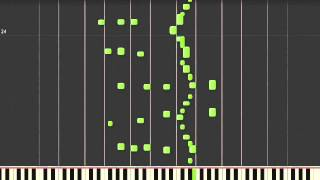 INSANE 400% SPEED!!! Sergei Rachmaninov - The Flight Of The Bumble Bee - Synthesia