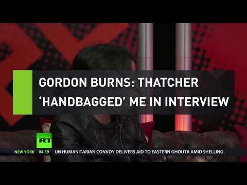 Gordon Burns: Thatcher 'handbagged' me in interview
