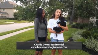 Charlie's Owner Testimonial - Off Leash K9 Training Houston