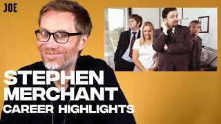 Stephen Merchant on his greatest roles: The Office, Extras, Logan, Jojo Rabbit, Hot Fuzz, Portal 2