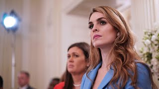 'I wish the president the very best': Hope Hicks steps down