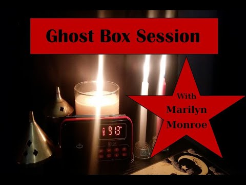 Download Marilyn Monroe Ghost Box Session