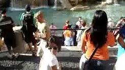 Fontana Trevin suihkulähde Roomassa