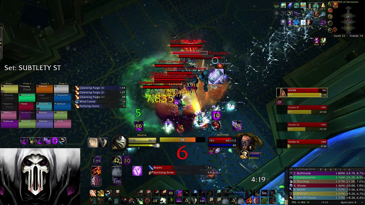 Madve - World Rank 1 DPS - MYTHIC Mother [ULDIR] - 8 1 SUBTLETY ROGUE by  Official_Madve