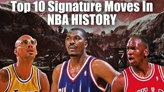 Top 10 Most Iconic Signature Moves In NBA History