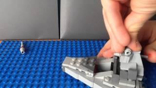 Обзор LEGO Star Wars 75033 звездный разрушитель-MICROFIGHTERS