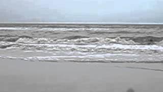 Atlantic Ocean waves in slow motion.