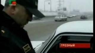 Грозный Контроль на дорогах УСБ МВД ЧР